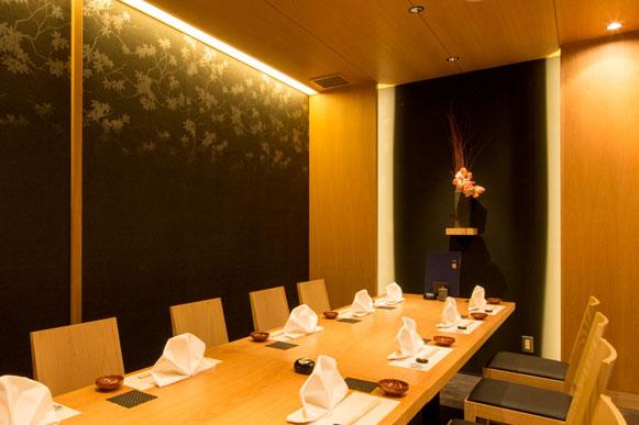 御宴会や御接待の御利用に最適なテーブル個室